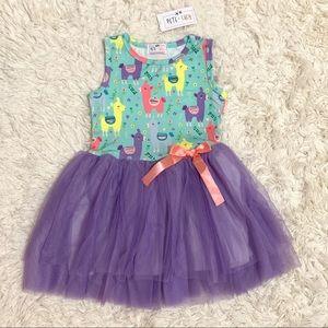 🆕 PETE & LUCY Llama Dress 3T 4T 5T 6 7 8 10 12